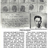 11. I wrote to the FBI and they sent me several wanted posters of the bad guys.