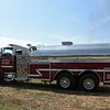 Gordonsville, VA. Fire Dept. hauled water.