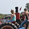 Girls only drive Farmall's...
