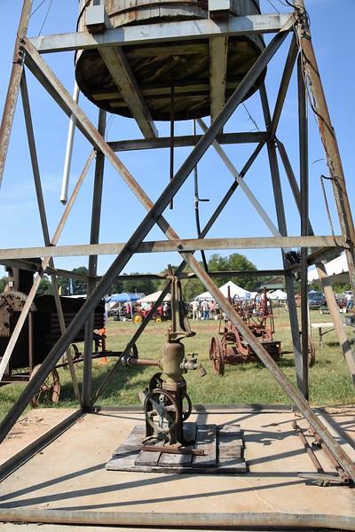 Windmill water pump.