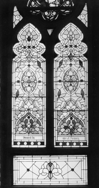Typical window in Church