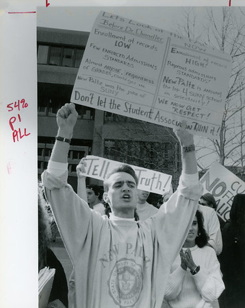 SUNY New Paltz demonstrations through the years