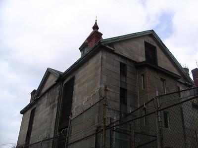 Old Salem Jail and Howard Street Cemetary, Salem, MA