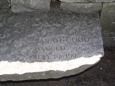 Salem Witch Victims Memorial