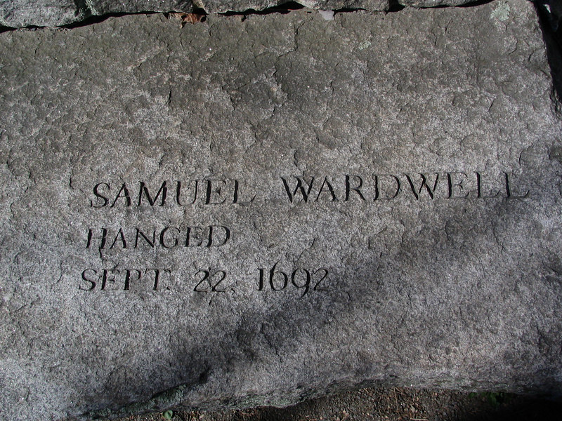Samuel Wardwell, Andover, hanged, September 22, 1692