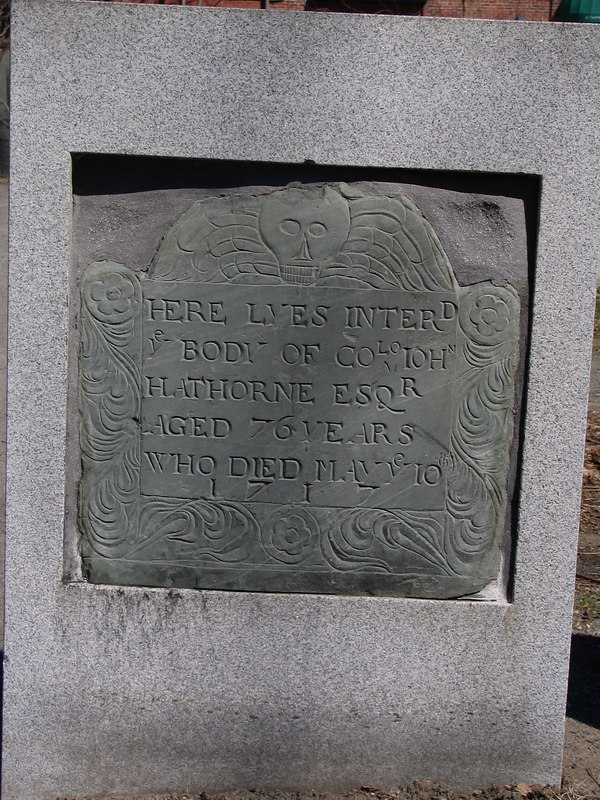 Justice John Hathorne, one of the presiding magistrates of the Salem Witch Trials