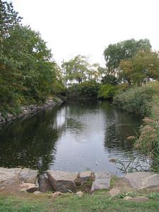 Fort Pickering moat