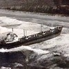 S S Ellin Aground Pt Arguello Calif  Refloated By Salvage Chief Dec 18 1963 Back Home Christmas Day