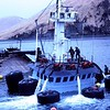 Raising King Crabber Arctic Wind  Kalekta Bay  Alaska 1980  Salvage Chief