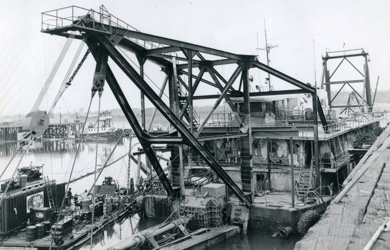 1978 Dredge Oregon Raised Portland Oregon,Salvage Chief,