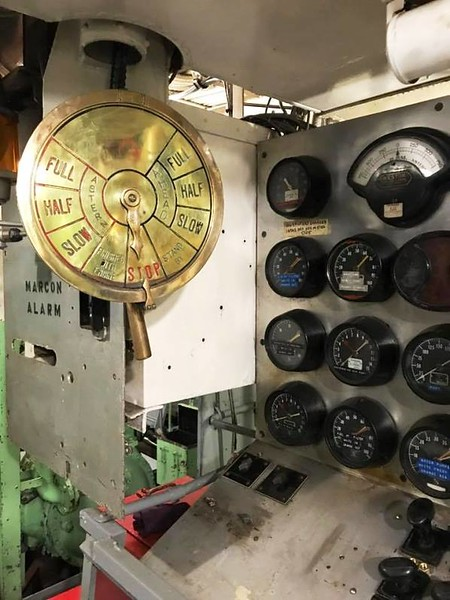 Salvage Chief Enunicator Answering Station Engine Room
