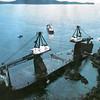 Barge Seaspan Rigger,Barkley Sound,British Columbia,Canada,Jan 1984,