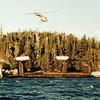Grounded Lumber Barge,Broke In Half,