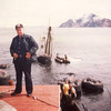 Captain Reino Mattila,Salvage Chief,Raising Arctic Wind,Alaska,1978,
