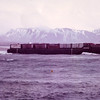 Crowley Barge 414,Sept 1975,Near Yakutat Alaska,Refloated Salvage Chief,