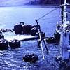 Raising a King Crabber  Arctic Wind  1980  Kalekta Bay Alaska  Salvage Chief  Fred Devine Diving  Salvage