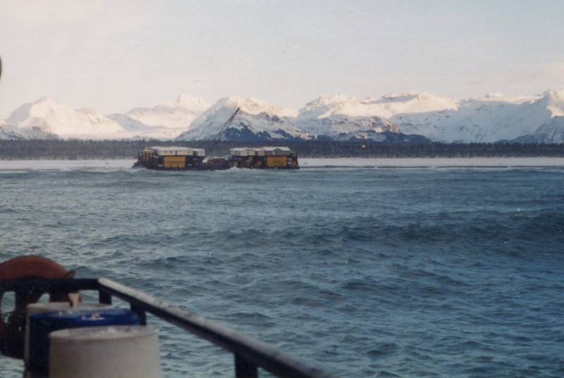 Barge Hard Aground Alaska,Salvage Chief Refloated And Delivered,