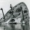 Sansinea,Bow Section,Raised Striped Took 3 Decks Off And Towed To Scrap,San Pedro 1977,Salvage Chief,