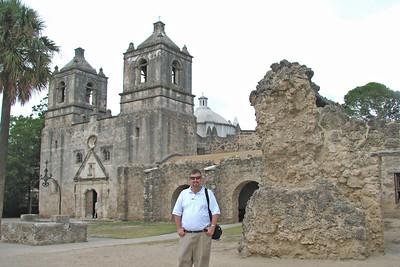 San Antonio, TX former Spanish missions