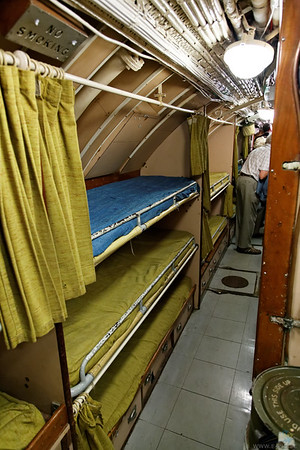 HMS Alliance bunks