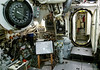 HMS Alliance engine room