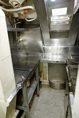 HMS Alliance galley