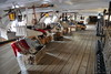 Middle Gun Deck Royal Marines sleeping quarters