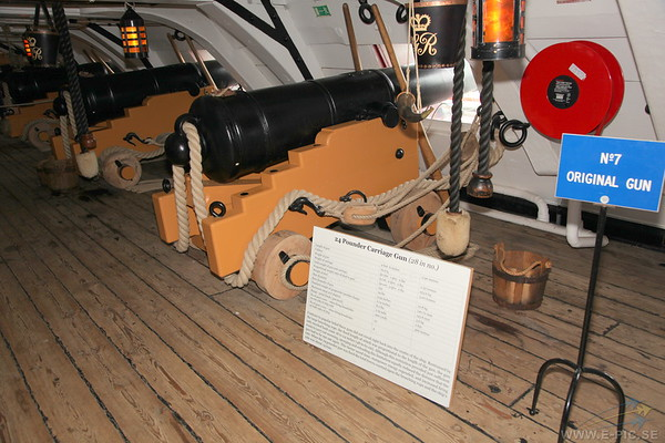 24 Pounder Carriage Gun