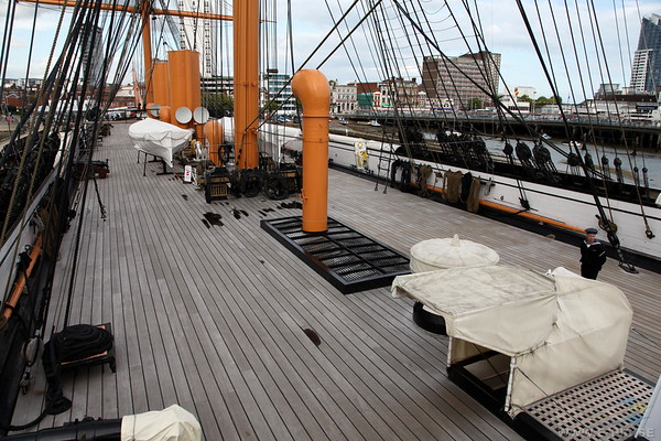 Deck looking towards the bow
