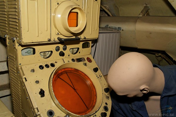 forward engine room containing the diesels and generators