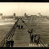 sealbeach from end of pier towrds land