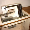 This Janome sewing machine Robin bought for me I think 1986 from the<br /> Adelaide market venue, It was the best you could buy at the time, sure has<br /> been & still is a wonderful machine. I use this one when I am sewing