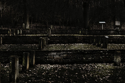 Schatten der Vergangenheit II  cemetery for the NS forced workers near Holzen/Germany  creativecommons - by-nc-nd