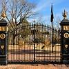 Shiloh National Cemetery gate.
