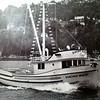 Viking Maid,Ocean Queen,Teasha,Built 1952 Harold Hansen Seattle,Don Hansen On Bridge,Sea Trials,