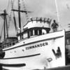 Commander,Built 1944 Tacoma,Halvdan Olsen,Clifford Andersen,Pic Taken Seattle,Beach Seiner On Deck,