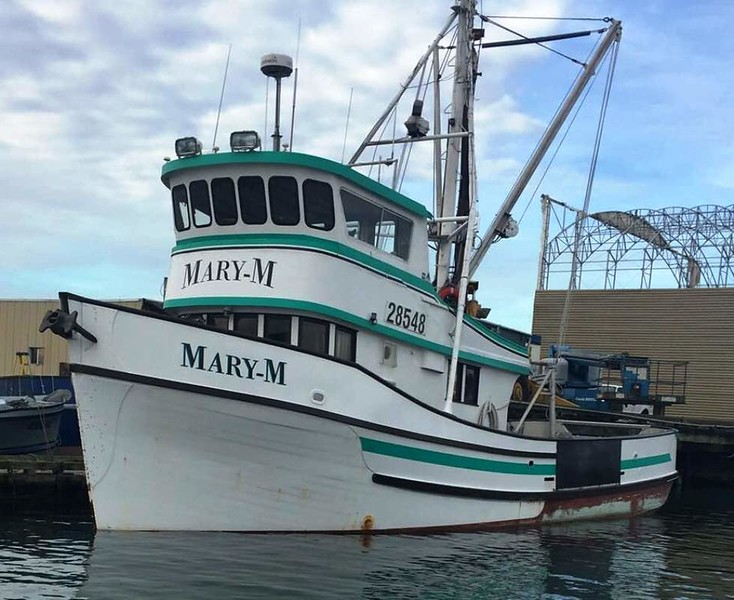 Mary M  Mary K  Ora Marie  Built 1968 Marine View Tacoma  Charlie Peterson Sonny Peterson Larry Kinley Robin Markusen