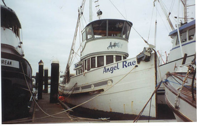 Angel Rae  Katherine M  Built 1928 Martinac  Tacoma  John Vitalich  Andrew Vitalich  Mike Jefferson  Jeff Peters