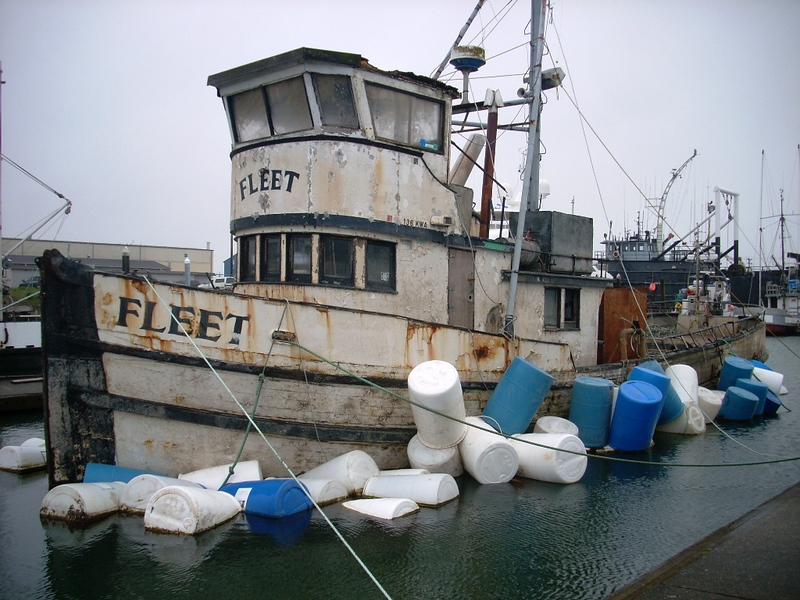 Fleet,Built 1945 Anacortes,C J Sebastian,