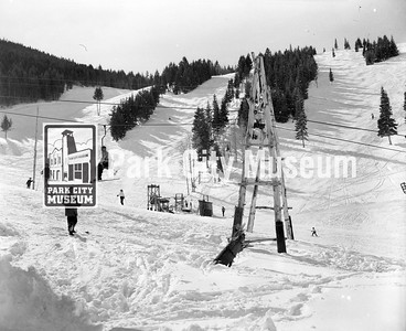 Snow Park Ski Resort, ca.1953 (Image: 1986-11-1, Mel Fletcher Collection)