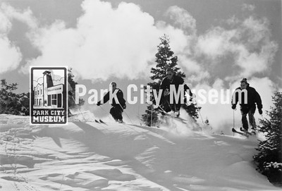 """No Delay"" run at Snow Park, ca.1950s-1960s (Image: 1984-63-6, Mel Fletcher Collection)"