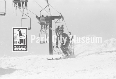 Park City Mountain Resort, ca.1974 (Image: 1999-4-246, Park City Mountain Resort Collection)