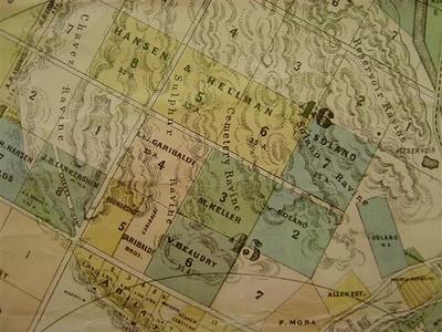 1884, Stevenson Map
