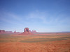 Monument Valley, UT, with Navajo Homes (the white specks--they're out there)