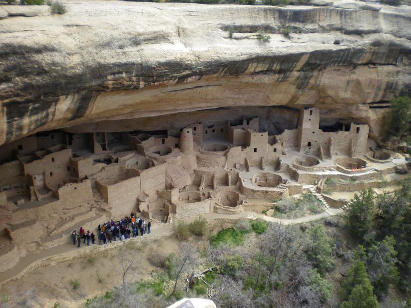 """Cliff Palace,"" Mesa Verde, CO"