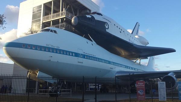 Space Center Houston - 24 Jan '16