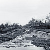 Looking north on 3rd Street from Jackson Street  -   May 1965 flood - Spearfish, SD.