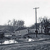 Home damage at 441 3rd St. -  May 1965 flood - Spearfish, SD.