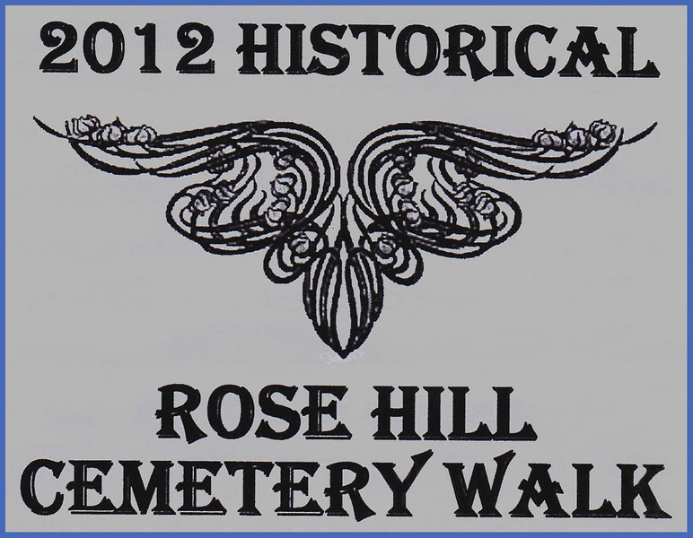 A production team consisting of writers Paul Higbee, Kaija Swisher, Jon Steven Wiley, and Linda Wiley penned some terrific scripts for the 2012 Historical Rose Hill Cemetery Walk.  Joe Saracco handled the wardrobe, and Jon Steven Wiley and Linda Wiley were coordinators for the event.  Of course, the many talented actors who portrayed historic Spearfish residents deserve much credit for doing a splendid job!<br /> <br /> Below, you'll find images from both the 2012 and 2011 Cemetery Walks.  We're confident -- given the terrific attendance at these cemetery walks -- that this will become an annual event.  Kudos to all who had a hand in putting this production together!