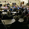 We've not seen any more folks squeeze in to the Senior Citizen's meeting room than we observed last night (2/2/10) for Paul Dingeman's presentation on Lookout Mountain.  By our count, about 100 people attended this program.